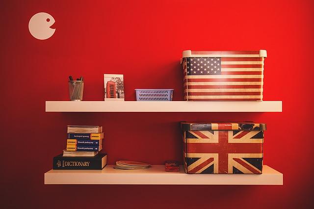 americká dekorace