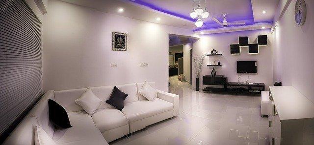 moderní design obýváku