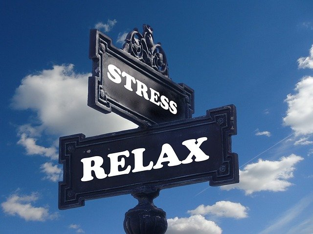 značky stres a relaxace